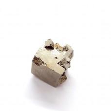 Pirit kocka 2x2 cm z vključki kristalnih kock