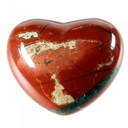 Srce iz minerala, rdeči jaspis - za prijateljstvo