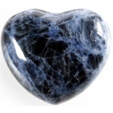 Srce iz minerala, sodalit - za prijateljstvo