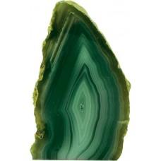 Ahat geoda, zelena 10 cm