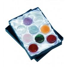 Čakra set - 9 mineralov v darilni embalaži