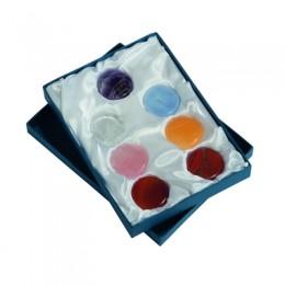Čakra set - 7 mineralov  v darilni embalaži