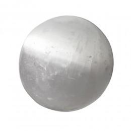 Masažna kroglica, selenit 3,0 cm