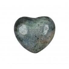 Srce iz mineral ahat - kristal dinamičnosti in odnosov