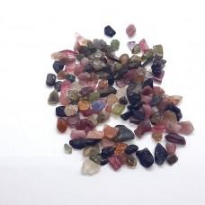 Turmalin mix mini kristali za izdelavo nakita in ustvarjanje (100 gram)