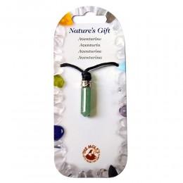 Ogrlica igla avanturin - kristal umiritve, proti stresu
