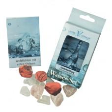 Eliksir proti stresu, živa voda /300 gram mineralov 2-3cm
