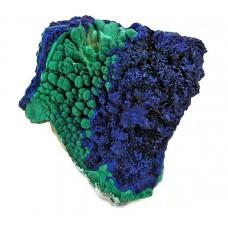 Azurit-malahit - Surovi mineral
