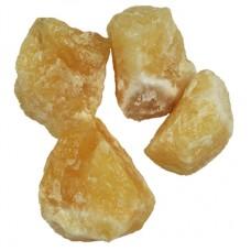 Kalcit rumeni - surovi mineral