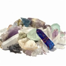 Zrna sreče, mix surovih mineralov