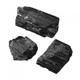 Turmalin črni - surovi mineral
