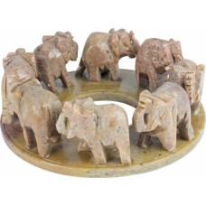 Sloni v krogu - družina