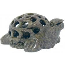 Želva, kip živali z mladičkom 7 cm